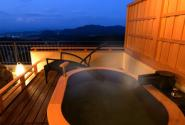 A Room with an Open-air Bath