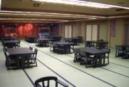 A large hall (tables are available)
