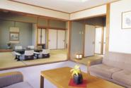 Special Japanese style room with a private bathroom and toilet