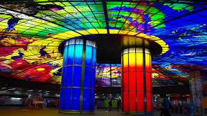 台湾高雄至福の旅(1人で)美麗島駅と六合夜市
