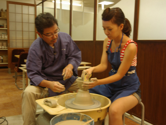Potter\'s wheel course