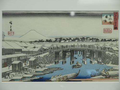 Nihonbashi of Edo period