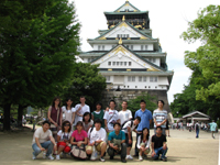 Osaka castle tour